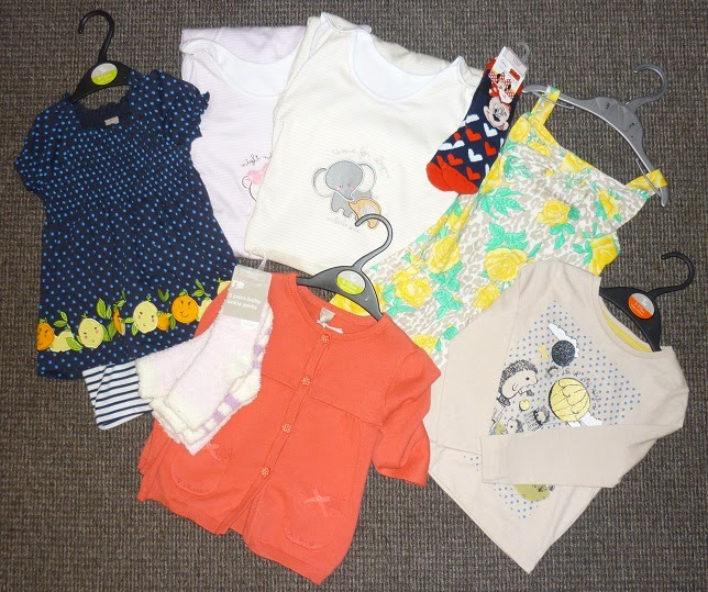 Baby sale clothing haul