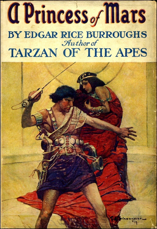 John Carter Book Cover Art : The realm of ryan edgar rice burroughs s mars part a