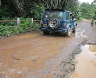 Desa Pemangkuan Butuhkan Jalan Kontruksi Beton