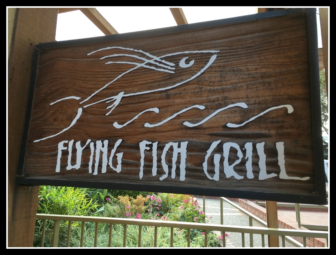 the diaries flying fish grill carmel by the sea