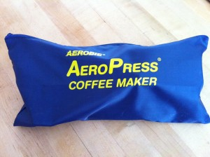 AeroPress coffee case