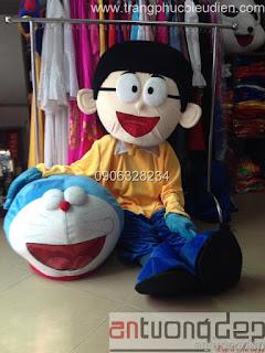 cho thuê thú rối nobita
