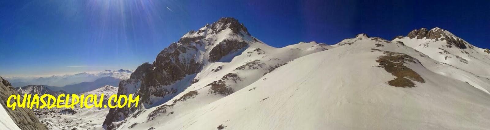 Guias de montaña , en picos de europa , ascensiones y escaladas guiadas