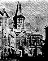 Riom, l'eglise saint-Amable