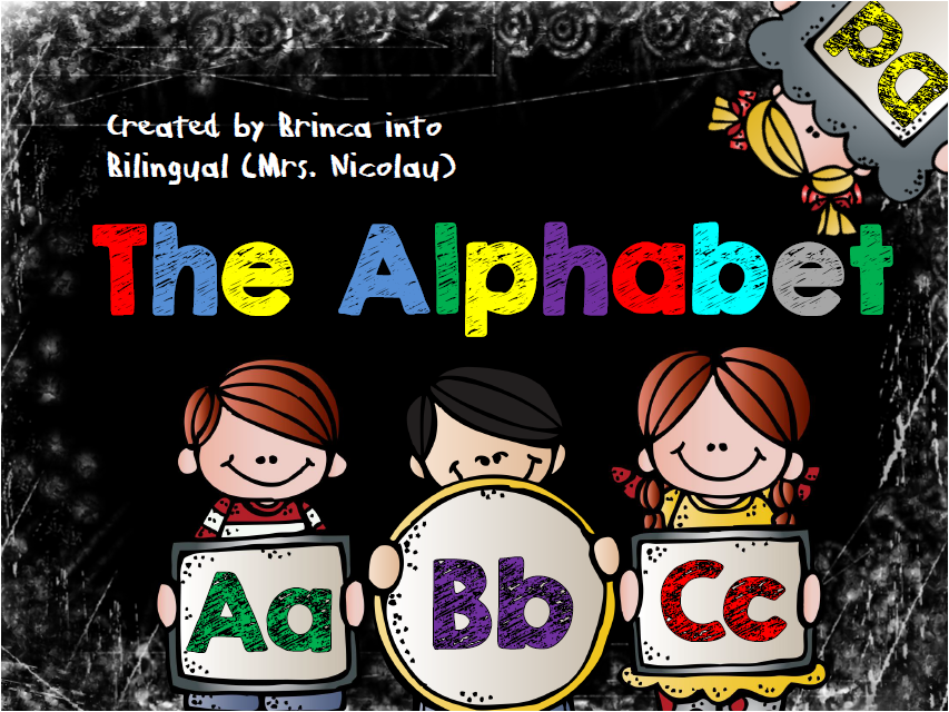 https://www.teacherspayteachers.com/Product/The-Alphabet-Bulletin-Board-small-groups-interactive-booklet-IN-ENGLISH-1821661