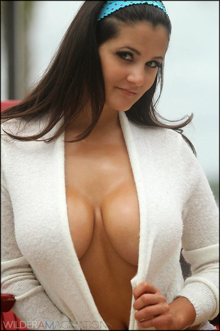 Nudes in fuzzy sweaters