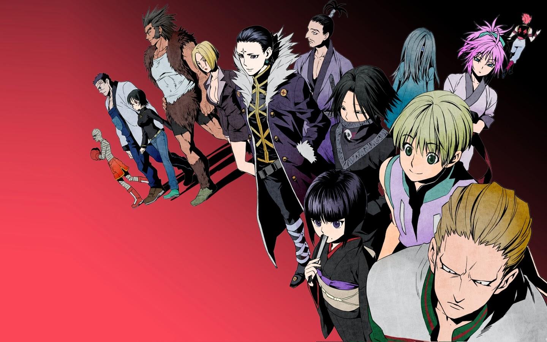 phantom troupe members hunter x hunter 2011 anime hd wallpaper    Phantom Troupe Members