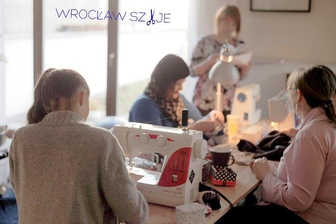 Wrocław Szyje, Spotkanie szyciowe, szyjemy razem, Wrocław Szyje Charytatywnie,