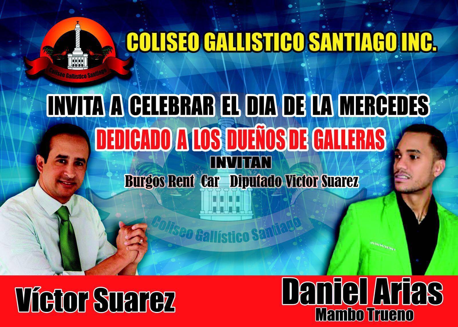 Coliseo Gallistico de Santiago Celebra en Gde. el Dia de las Mercedes 24 de Sept.