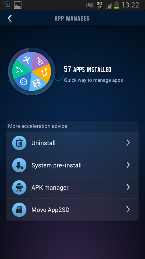 DU speed booster apk for Android