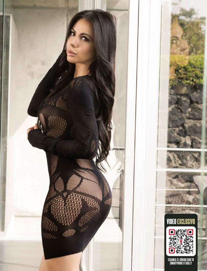 ... Sánchez en la portada de la Revista H Para Hombres México Enero 2016