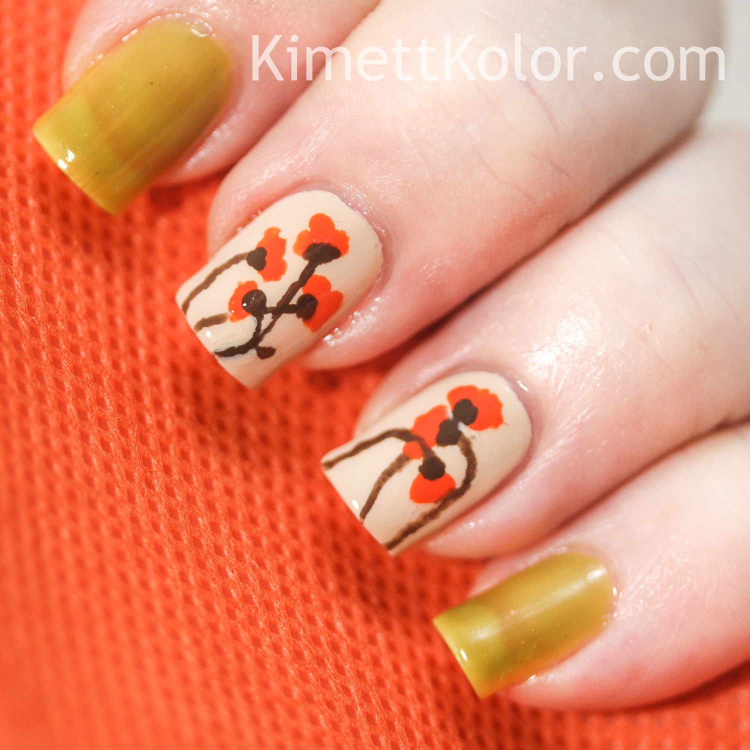 Theme of the Month: August Peridot and Poppies | Kimett Kolor