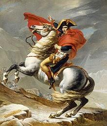 Napoléon franchissant le Grand Saint-Bernard