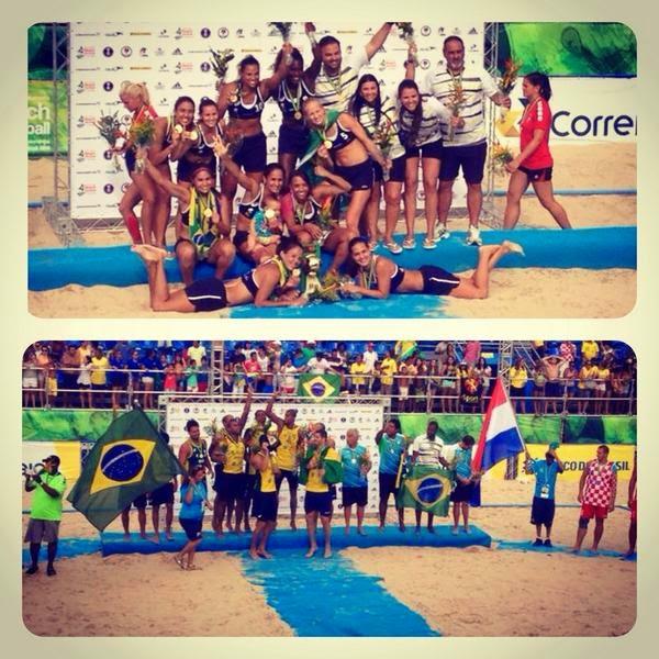 Beach Handball: Brasil, campeón mundial en las dos ramas | Mundo Handball