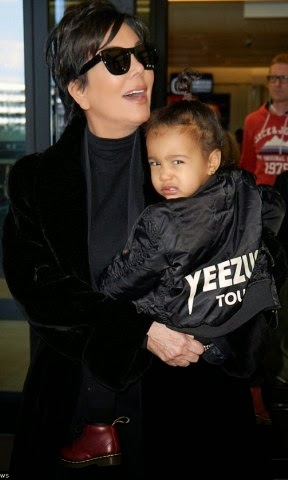 north west paparazzi look