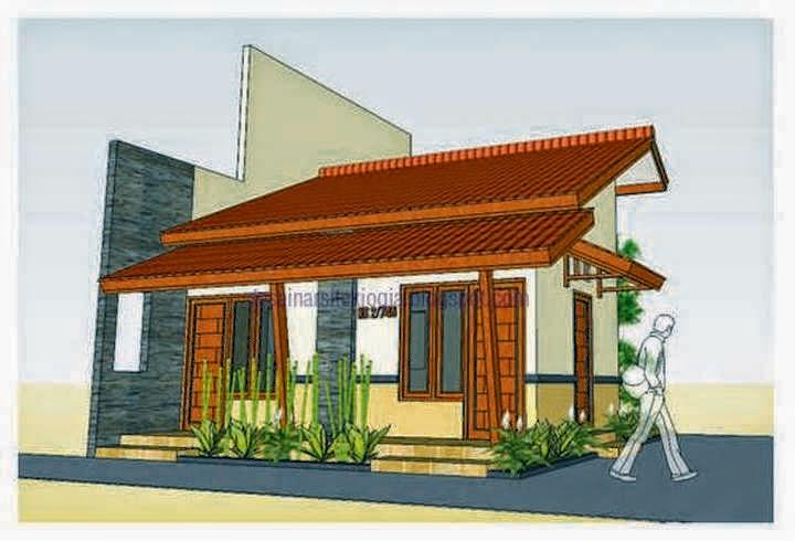 rumah minimalis etnik