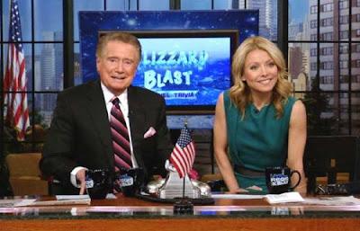Regis Philbin is leaving 'Live! With Regis & Kelly'