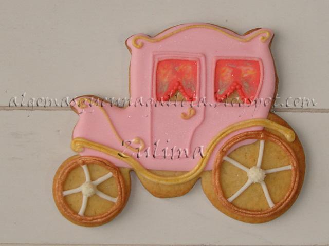 Algo más que una galleta...: CARROZA PARA UNA PRINCESA