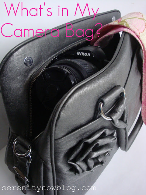 What's In My Camera Bag? from Serenity Now