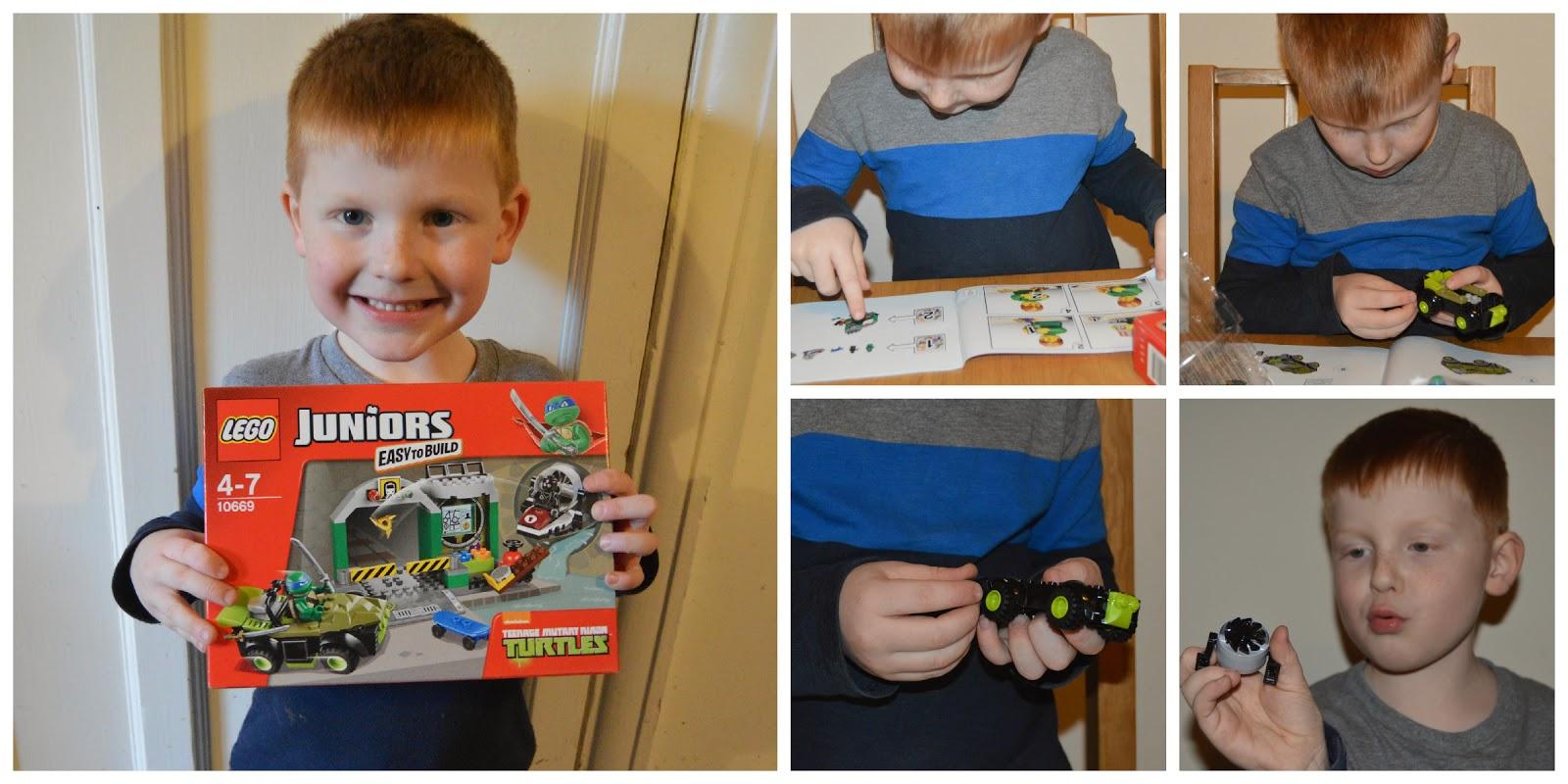 Lego juniors turtles