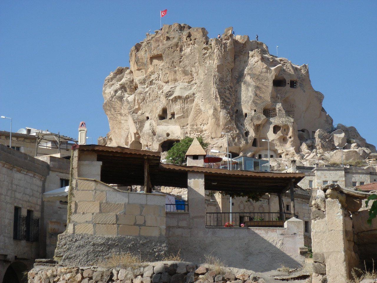 Riante grotwoning te huur in cappadoci het dakterras for Buitentrap te koop