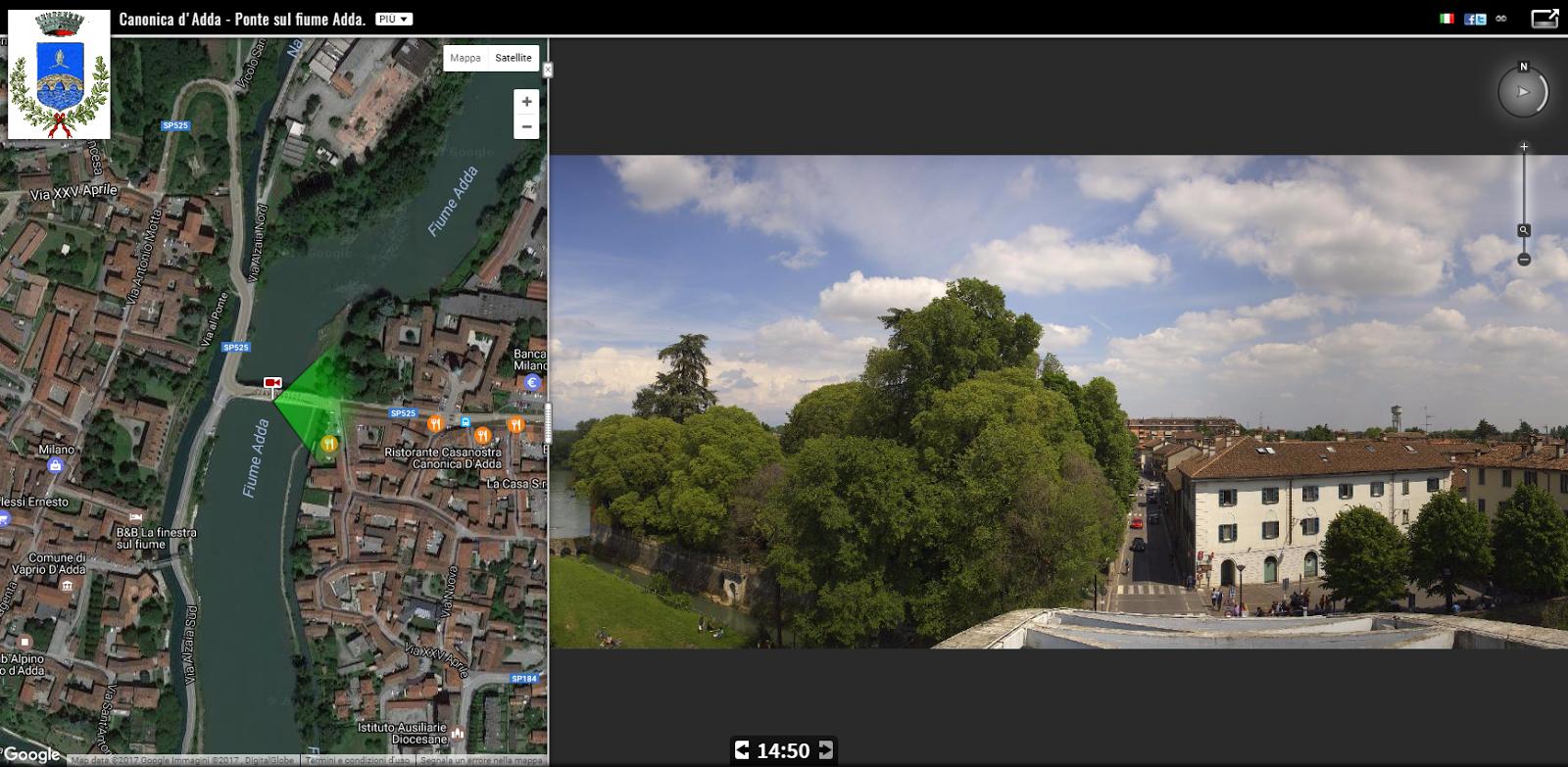 Webcam live dal Pons Aureoli