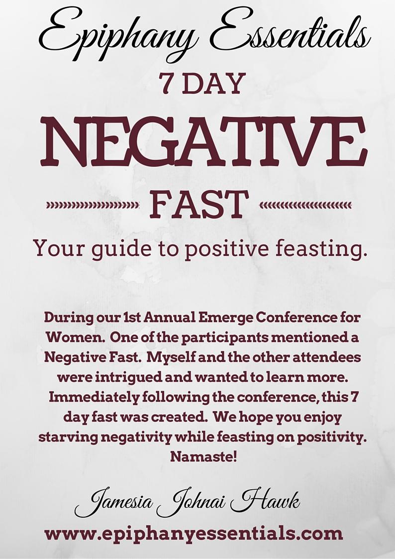 7 Day Negative Fast ebook