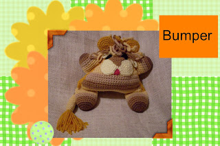 funmigurumi huggy dumpling bumper the lion