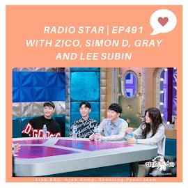 [ برنامج ] زيكو في برنامج Radio Star حلقه 491
