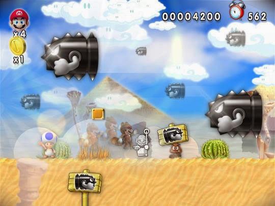 لعبة سوبر ماريو New Super Mario Forever 2015