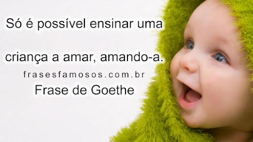 Frase de Goethe