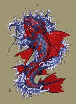 Design 3d Tattoos Koi Fish Tattoo Designs For Girls