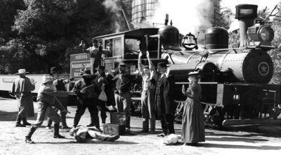 Cowboy Train Robbery