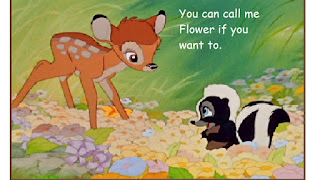 bambi,you can call me, flower