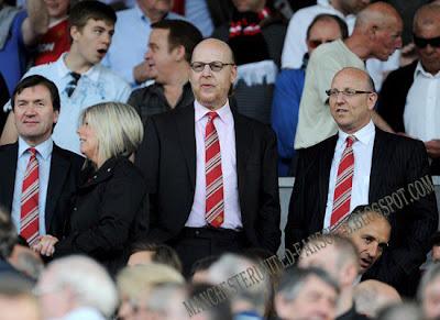 Joel Glazer and Avram Glazer-Man Utd v Fulham