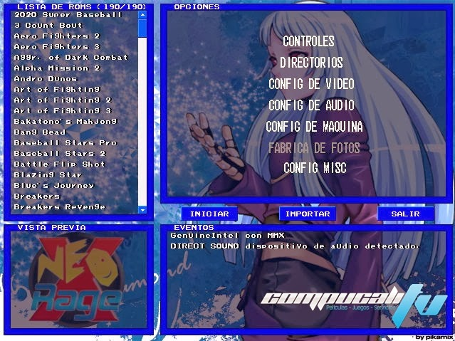 NeoRAGEx 5 Collection PC Full Español