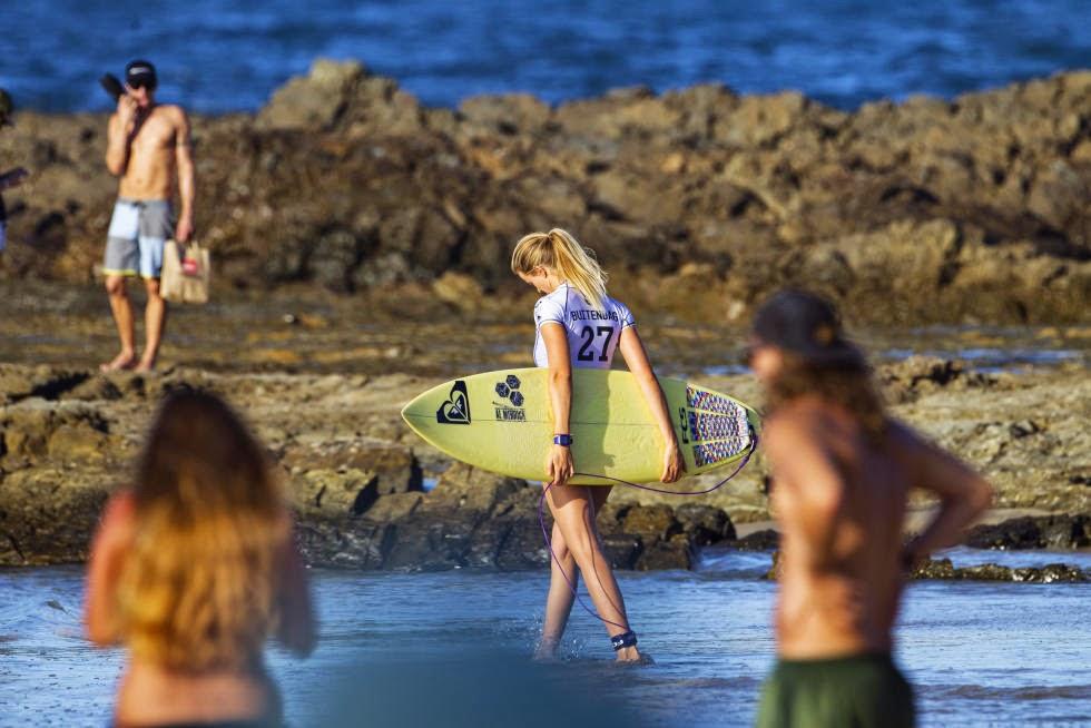 36 Roxy Pro Gold Coast 2015 Bianca Buitendag Foto WSL Kelly Cestari