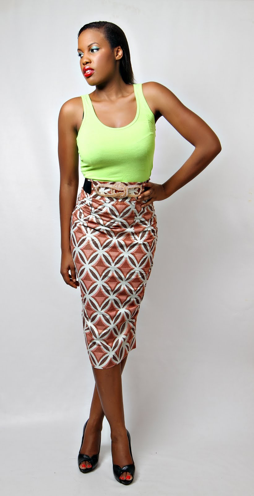 pictures of ankara skirt and blouse silk blouses