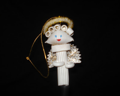 Pasta angel ornaments 1