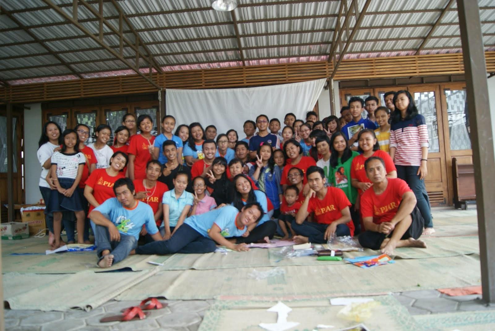 Bersama Pendamping PIA paroki Kebonarum Klaten 18-19 April 2015