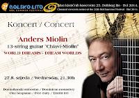 Anders Miolin, koncert WORLD DREAMS - DREAM WORLDS, Bol slike otok Brač Online