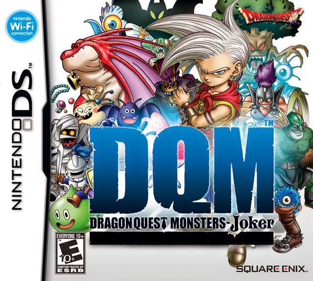 Dragon Quest Monsters: Joker game nds rom cover
