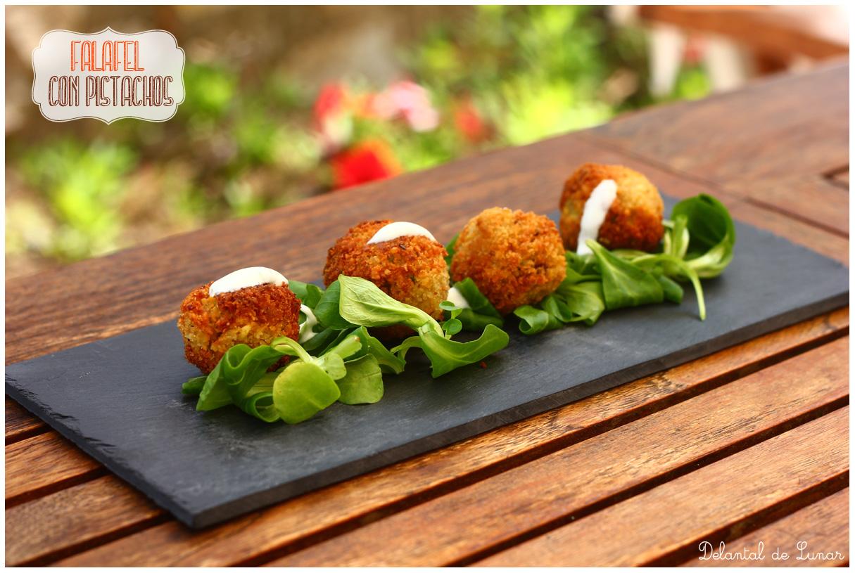 Foto: Receta de falafel con pistachos