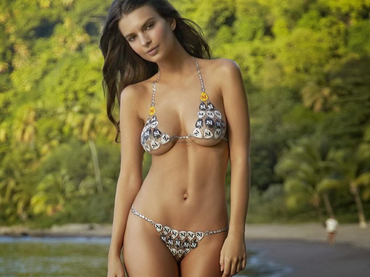 Paint on bikinis nudity