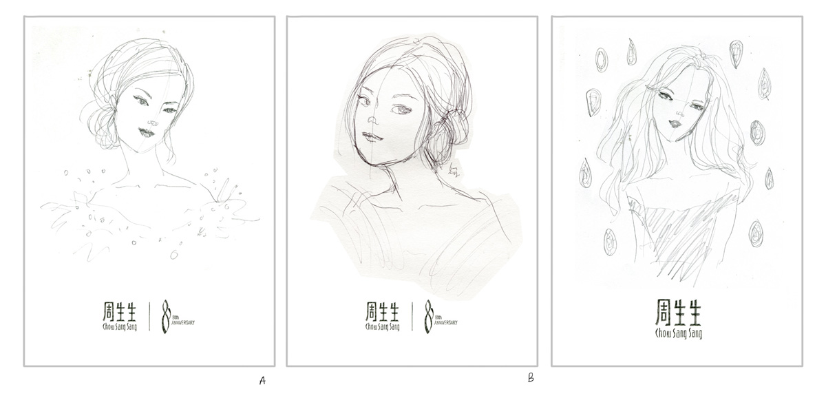 Chow Sang Sang / Kitty N. Wong Rough Sketch