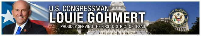 http://gohmert.house.gov/news/email/show.aspx?ID=RARJ62LPUKCT65H4ZMPD4EFYI4