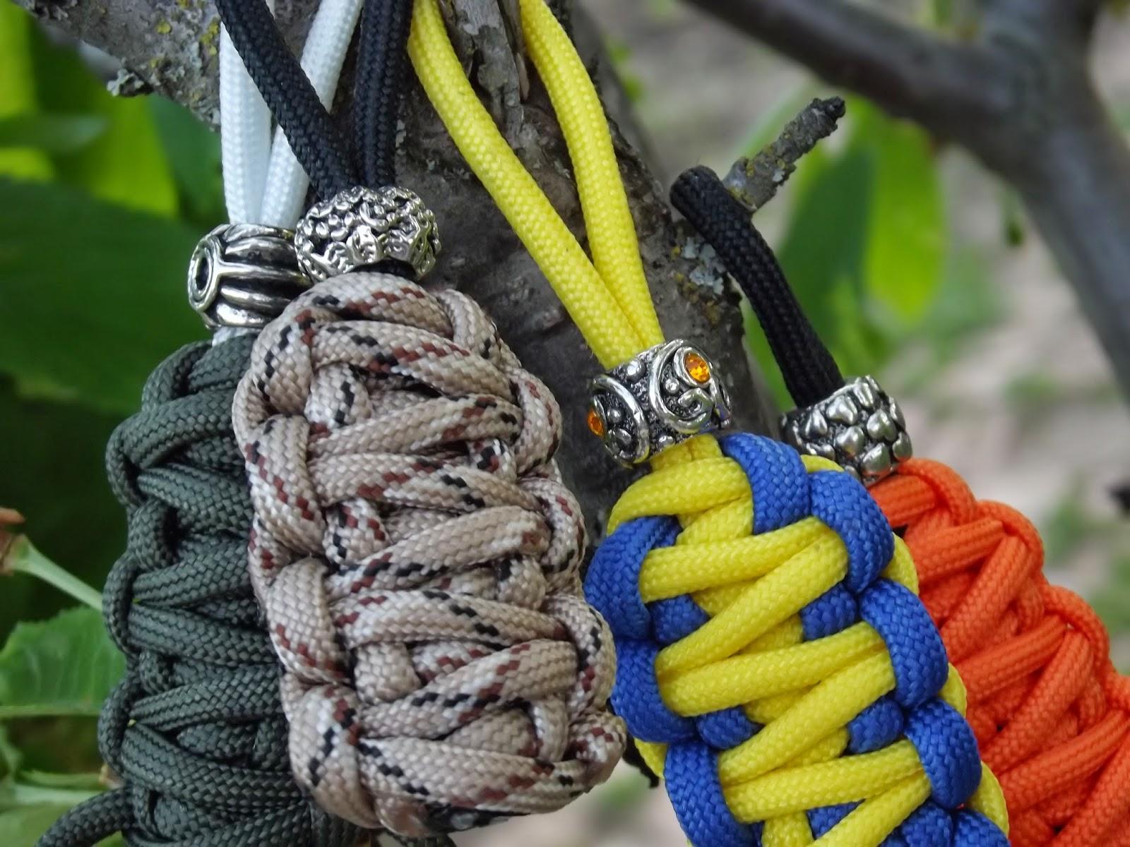 Темляк из паракорда кобра своими руками 19