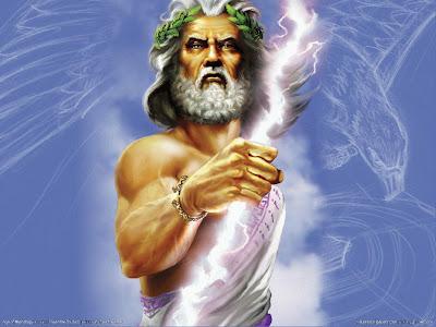 3D Zeus, starogrčki bog munje download besplatne slike pozadine za desktop