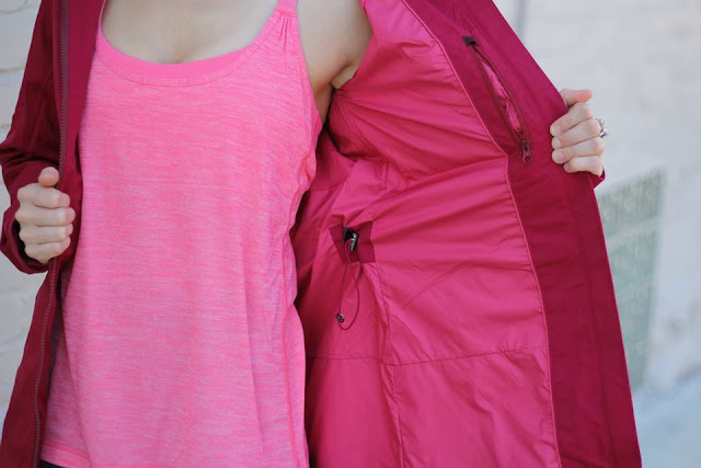 lululemon definitely-raining-jacket-cranberry