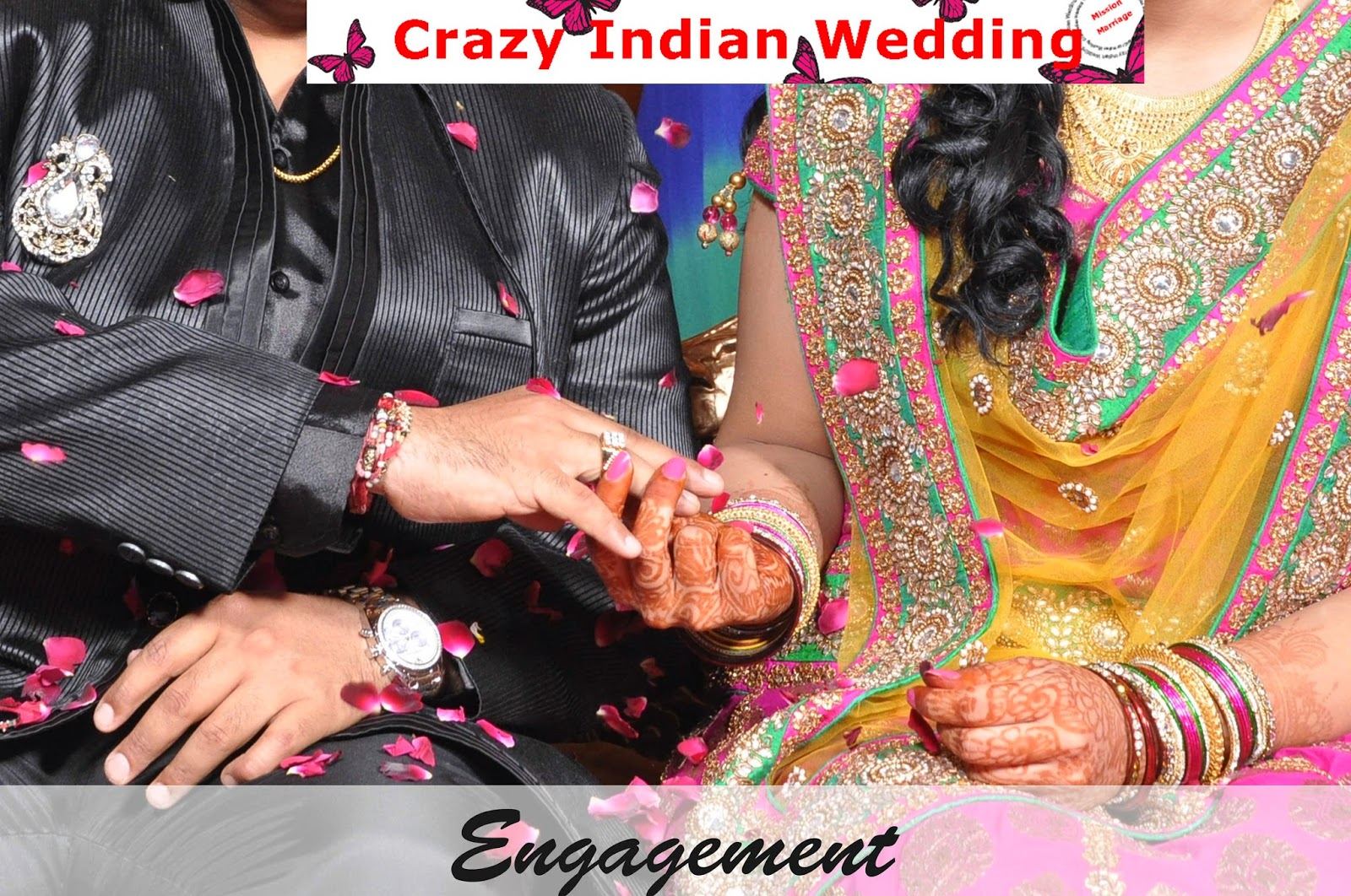 engagement indian wedding